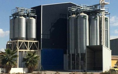 Pig Feed Mill in Spain