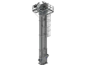 New industrial bucket elevators incorporating heavy-duty features