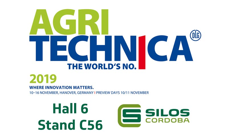 We'll be exhibiting our grain storage and handling systems at Agritechnica, Germany