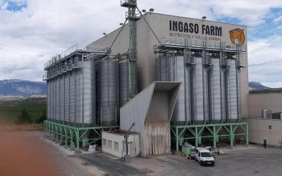Feed & Wheat Silos in Alava, Spain