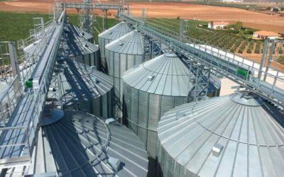 Quinoa storage plant in Spain