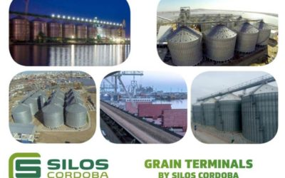 Grain terminals by Silos Córdoba worldwide